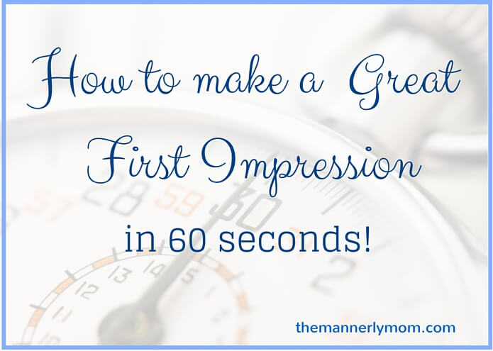 great first impression