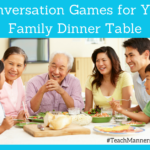 Conversation Games for Your Family Dinner Table