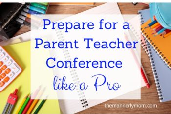 Prepare for a Parent Teacher Conference Like a Pro