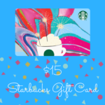 Celebrating + Confetti = Starbucks!