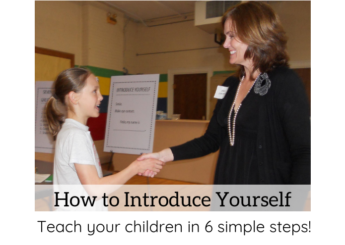 How To Introduce Yourself   U0026 Teach Your Kids This