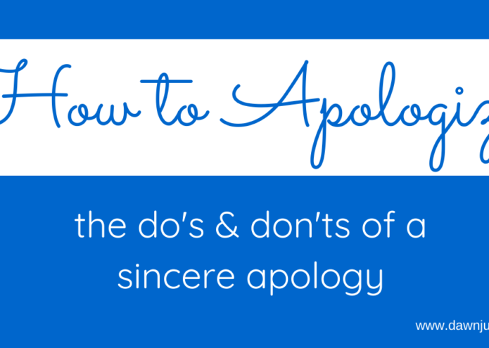 How to Apologize (plus how to teach your kids this important skill)