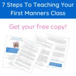Why You Should Start a Manners Teaching Business